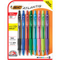 BIC Velocity Retractable Ball Pen, Bold Point , 8 Per Pack, 3 Packs
