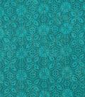 Keepsake Calico Cotton Fabric 43\u0022-Peacock Medallion Blender