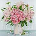 Leisure Arts Diamond Art Intermediate Kit 12\u0027\u0027X12\u0027\u0027-English Roses