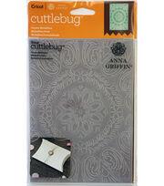 Cricut Cuttlebug Anna Griffin Ornate Medallion 5x7 Embossing Folder, , hi-res