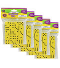 Teacher Created Resources Foam Traditional Dice, 20 Per Pack, 5 Packs