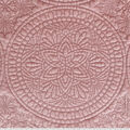 Lightweight Décor Fabric-Blush Velvet Medallion