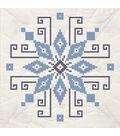 Fairway Stamped Cross Stitch Quilt Blocks Wheel