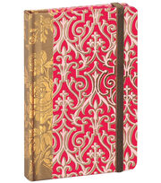Anna Griffin Pink Solid Rnd Corner Notebook, , hi-res
