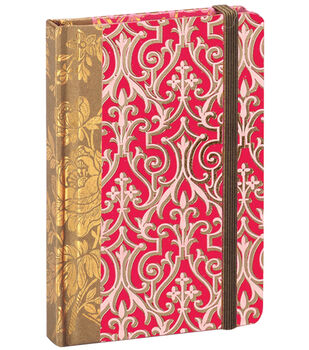 Anna Griffin Pink Solid Rnd Corner Notebook