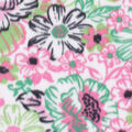 Blizzard Fleece Fabric-Pink & Green Floral