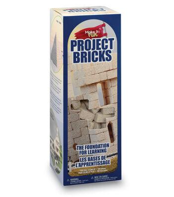 FloraCraft Make it Fun: Project Bricks Styrofoam Kit