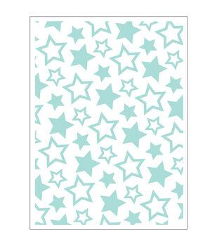 Park Lane A2 Embossing Folder-Stars