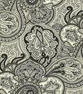 Waverly Multi-Purpose Decor Fabric-Paddock Shawl Onyx
