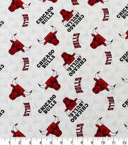 Chicago Bulls Cotton Fabric-Toss, , hi-res