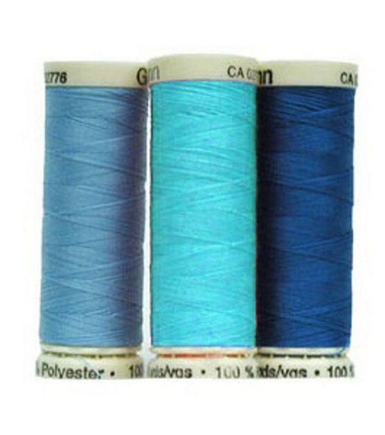 100P-211 Gutermann Sew-All Thread 110yd-True Blue