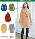 Simplicity Patterns Us1067R5-Simplicity Misses\u0027 Easy-To-Sew Jacket Or Coat-14-16-18-20-22