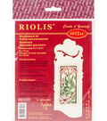 RIOLIS 2.25\u0027\u0027x6.25\u0027\u0027 Counted Cross Stitch Kit-Bookmark Graceful Lily