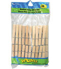Woodsies Medium Spring Clothespins-2-3/4\u0022 40/Pkg