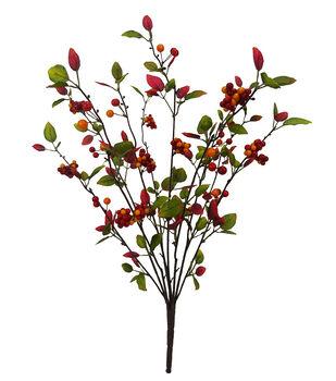 Blooming Autumn Berry Bush-Orange