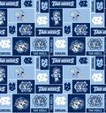 University of North Carolina Tarheels Fleece Fabric 58\u0027\u0027-Block