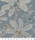 Robert Allen @ Home Print Swatch 54\u0022-Indienne Ink Mineral