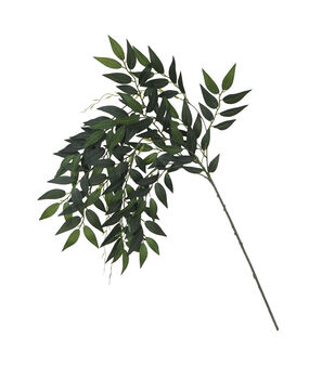 Blooming Autumn Hanging Eucalyptus Leaf Spray
