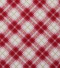 Christmas Cotton Fabric 43\u0022-Mini Lodge Plaid