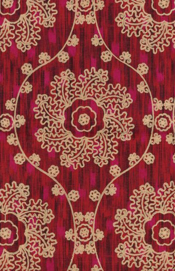 "IMAN Home Print Fabric 54""-Mythical Medallion/Jewel"