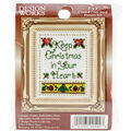 Design Works Christmas In Your Heart Ornament Counted Cross Stitch Kit