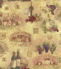 Susan Winget Cotton Fabric 44\u0022-Scenic Patch