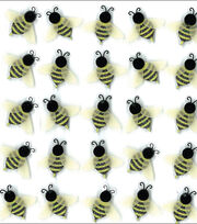 Jolee's Boutique Dimensional Mini Repeats Stickers-Bees, , hi-res