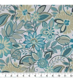 28964321551 Home Essentials Lightweight Decor Fabric 45  -Teal Deuton Panorama
