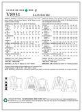 Mccall Pattern V8931 6-8-10-12--Vogue Pattern