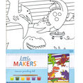 Little Makers 6X8 Canvas Kit-Dinosaurs