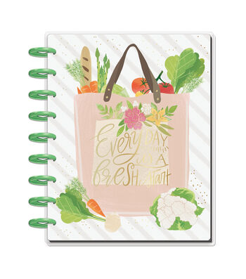 The Happy Planner Recipe Organizer-Everyday is a Fresh Start
