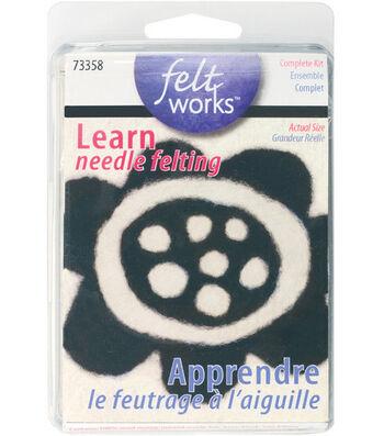 Feltworks Learn Needle Felting Kit