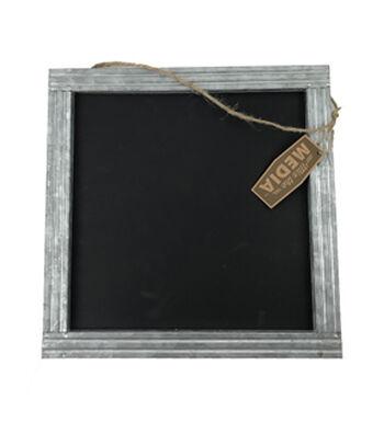 Galvanized 12x12 Chalkboard Frame