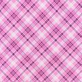 Snuggle Flannel Fabric-Pink Bias Plaid