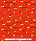 Denver Broncos Cotton Fabric -Mini Print