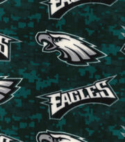 Philadelphia Eagles Fleece Fabric -Digital Camouflage, , hi-res