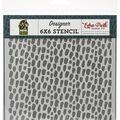 Echo Park Stencil 6\u0027\u0027X6\u0027\u0027-Cheetah Spots