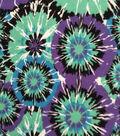 Doodles Juvenile Apparel Fabric 57\u0027\u0027-Tie Dye Fireworks Interlock