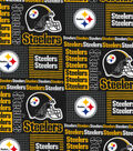 Pittsburgh Steelers Cotton Fabric 58\u0022-Patch