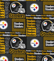 Pittsburgh Steelers Cotton Fabric -Patch, , hi-res