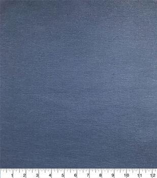 Americana Summer Stretch Twill Fabric-Navy Sandwashed