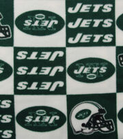 "New York Jets Fleece Fabric 58""-Block, , hi-res"