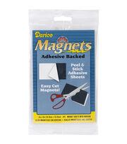 """Adhesive Magnetic Sheet-4""""X6"""" 3/Pkg, , hi-res"""