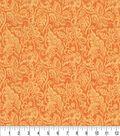 Keepsake Calico Cotton Fabric -Tangerine Nadelle