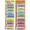 Bookmarks During & After Reading Smart, 36 Per Pack, 6 Packs