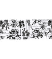 Tim Holtz Idea-ology Collage Paper 6''x6 yds-Botanical, , hi-res