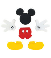Disney Dress It Up Button Embellishments-Mickey Mouse, , hi-res