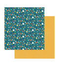 To The Moon And Back Double-Sided Cardstock 12\u0022X12\u0022-Intergalactic