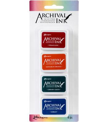 Archival Mini Ink Pad Kits-Kit 1
