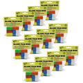 Blank Foam Dice, 16mm, Assorted Colors, 12 Per Pack, 12 Packs